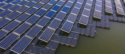 example floating solar